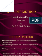 The Hope Method-Dieta