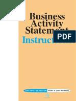 Activity Statement Instructions