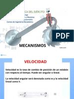 Analisis Grafico de Velocidad y Aceleracion de Mecanismos