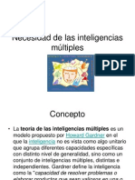 1.2 Inteligencias Multiples