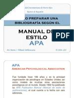 Como Hacer Una Bibliografia APA