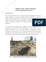 Soil Improvement Layer (A simple approach) By Structural Engineer Ayyappadhas