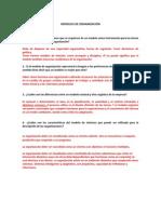 Cuestionario Modelos de Organizacion