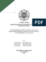 Laporan Akhir PKM T 012 UGM