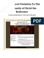 Community of Christ the Redeemer, a Sword of the Spirit Covenant Community