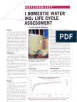 Urban Domestic Water Tanks - Life Cycle Assessment (1)