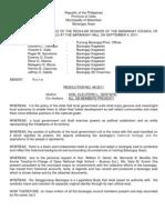 Barangay Seal Ordinance
