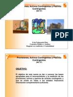 Provisiones y Contingencias (NIC37)