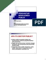 Arief Daryanto-pengantar Manajemen Publik 2