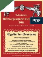 Ritterschauspiele Kiefersfelden 2011 EZZELIN DER GRAUSAME