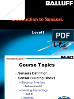 SensorBasics Level I