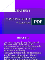 Chapter 1- Concepts of Health and Wellness