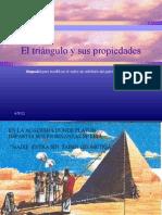 El triángulo y sus propiedades