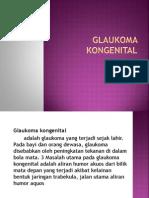presentasi Glaukoma Kongenital