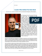 Steve Jobs Article