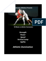 16 Week Athletic Domination Program