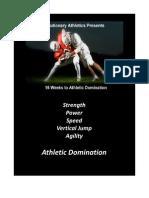 16 Week Athletic Domination Program