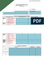 Planul Anual de Pregatire - Cls.i-iv