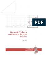 Domestic Violence Intervention Services in Sri Lanka (ICES)