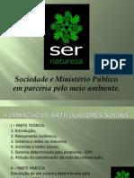 Formação de articuladores de Redes Sociais