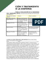 EVALUACIÓN Y TRATAMIENTO DE LA DISFEMIA