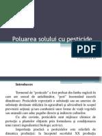 Poluarea Solului Cu Pesticide