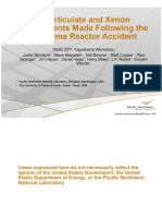 US Particulate and Xenon Measurements Made Following the Fukushima Reactor Accident