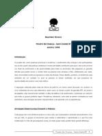 Relatório Técnico Ser Criança Santo André - Ago a Nov 2008