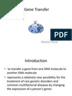 Gene Transfer