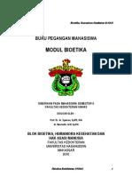 Modul Mahasiswa Bioetik