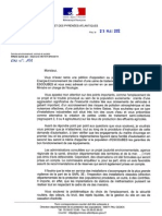Courrier DDPPPA 230512