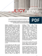 IPP Bilant Servicii Publice 2012