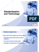 Planning Part_1- GSM Standardisation and Technology