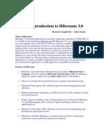 Introduction to Hibernate 3