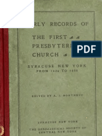 1st Presbyter Ian Church Syracuse NY