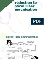 Introduction to Optical Fiber Communication