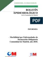 Boletín epidemiológico noviembre 2011
