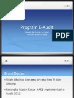 Perkembangan E Audit 6 Februari 2012[1]