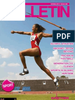 Spring 2012 Runnymede Bulletin (Sport)