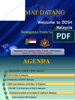 Welcome to DOSH Malaysia
