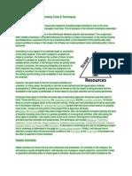 Project Management Estimating Tools