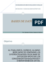 1.- Historia de Las Bases de Datos