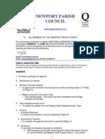 Revised AGENDA NPC 11th June 12
