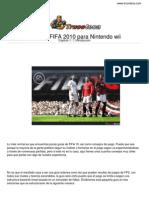 Guia Trucoteca Fifa 2010 Nintendo Wii