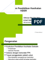 Topik 2 -Kurikulum Pendidikan Kesihatan KBSR