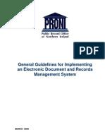 Gestión de registros electrónicos