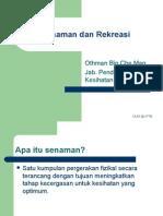 Topik 7-Senaman Dan Rekreasi