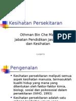 Topik 8 - Kesihatan Persekitaran