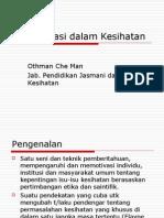 Topik 9-Komunikasi Dan Kesihatan