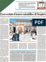 Ecco svelato il tesoro scientifico del Serpieri - Il Resto del Carlino del 7 giugno 2012